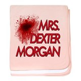 Mrs. Dexter Morgan baby blanket