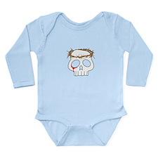 Skull - Jesus Long Sleeve Infant Bodysuit