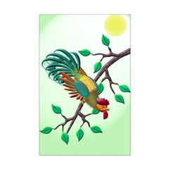 Rooster Mini Poster Print