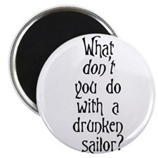 "Unique Pirates 2.25"" Magnet (100 pack)"