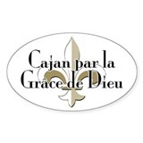 Cajan par la Grace Decal