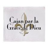 Cajan par la Grace Throw Blanket