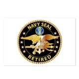 Navy - SOF - Navy Seal Retired - Black - Seal Team