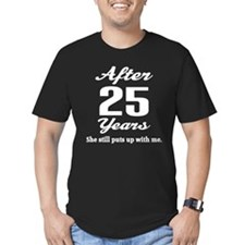 25th Anniversary Funny Quote T