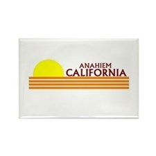 Unique Anaheim Rectangle Magnet (100 pack)
