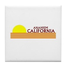 Unique Anaheim california Tile Coaster