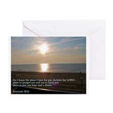 Jeremiah 29:11 Greeting Cards (Pk of 20)
