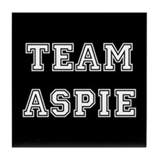 Team Aspie Tile Coaster