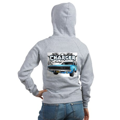 Charger - By Dodge Women's Zip Hoodie