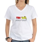 The Whisperer Occupations Women's V-Neck T-Shirt