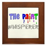 The Whisperer Occupations Framed Tile