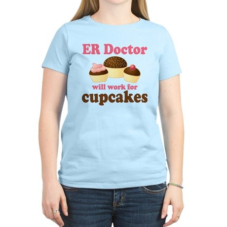 Funny ER doctor Women's Light T-Shirt