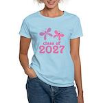 Class of 2027 Girls Graduation Women's Light T-Shi