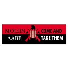 Molon Labe (Come and Take The Bumper Sticker