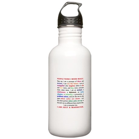 I Am a Marketer Stainless Water Bottle 1.0L