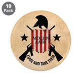 "Molon Labe (Come and Take The 3.5"" Button (10 pack"