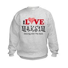 I Love Maksim Sweatshirt