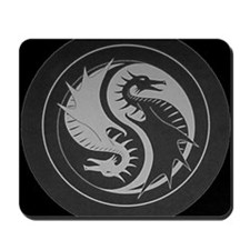Black Dragon Mousepad