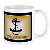 Horizontal - Blue & Gold Anch Mug