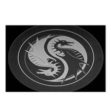 Black Dragon Postcards (Package of 8)