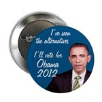 Alternatives Barack Obama 2012 campaign button
