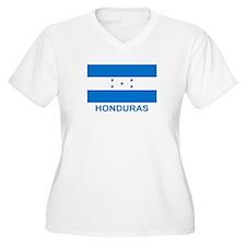 Honduran Flag (labeled) T-Shirt