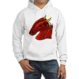 Red Dragon -art by Bb- Jumper Hoody