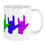 I love you - colorful Mug
