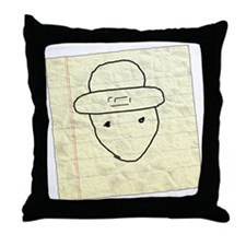 Mobile leprechaun Throw Pillow
