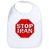 STOP Iran! Bib