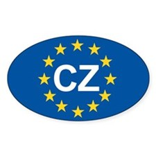 Czech Republic EU Decal