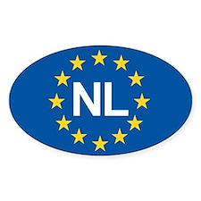 Holland NL EU Stickers