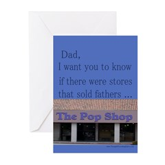For Dad/Pop Shop Birthday Greeting Cards (Pk of 10