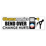 """Obamanomics"" Bumper Sticker"
