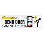"""Obamanomics"" Sticker (Bumper)"