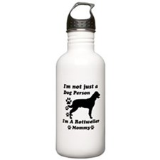 Rottweller mommy Water Bottle