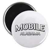"Mobile Alabama 2.25"" Magnet (100 pack)"