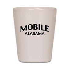 Mobile Alabama Shot Glass