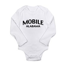 Mobile Alabama Long Sleeve Infant Bodysuit