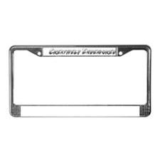Creatively Endeavored License Plate Frame