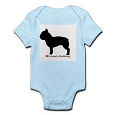 French Bulldog Silhouette Onesie