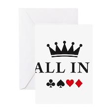 Cool Poker Greeting Card