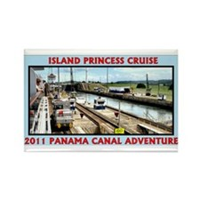 Island Princess - Rectangle Magnet