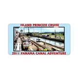 Island Princess - Aluminum License Plate