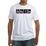 Periodic Table Atheism Fitted T-Shirt