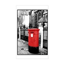 Red Letterbox Decal