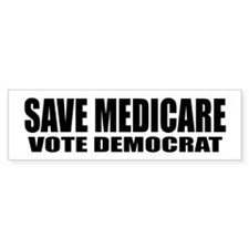 SAVE MEDICARE Bumper Sticker
