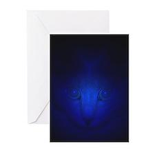Blue Malaki Greeting Cards (Pk of 20)
