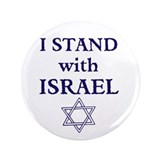 "I Stand with Israel 3.5"" Button"