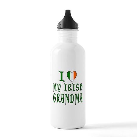 I Love My Irish Grandma Stainless Water Bottle 1.0